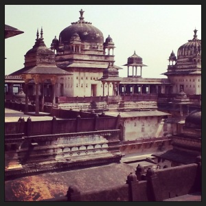 Different views of the Orchha Fort. Simply stunning.